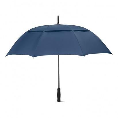 Odporny na wiatr parasol o średnicy 27 cali