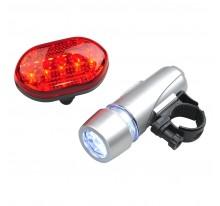 Zestaw lampek rowerowych Biker Light