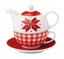 Dzbanek do herbaty z motywem nordyckim