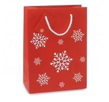 Elegancka torba na prezenty - średnia.
