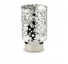 Metalowy świecznik na tea lighty.