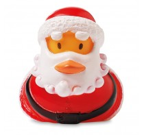 Pływający Święty Mikołaj.