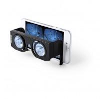 Składane okulary wirtualnej rzeczywistości, regulowane soczewki.