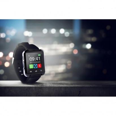 """Zegarek wielofunkcyjny z Bluetooth i wysokościomierzem, wyświetlacz LCD 1,44""""."""