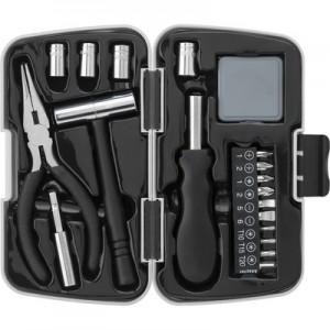 Zestaw narzędzi, 26 elementów w plastikowym pudełku.