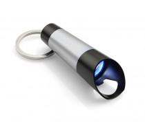 Latarka LED z otwieraczem TUBE srebrna