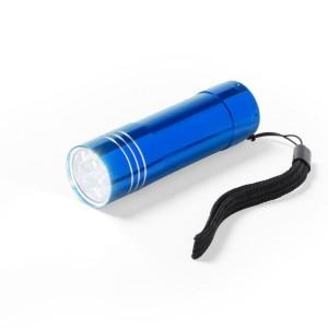Latarka 9 LED z paskiem na rękę