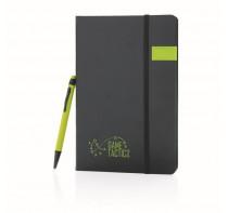 Luksusowy notatnik, pamięć USB 8GB i długopis