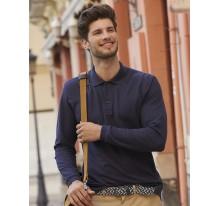 Polo Premium z długimi rękawami. Kolor.