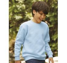 Klasyczna bluza dziecięca ze ściągaczem.