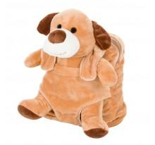 Bruno, pluszowy pies, plecak