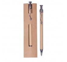 Długopis z falistym klipem w etui