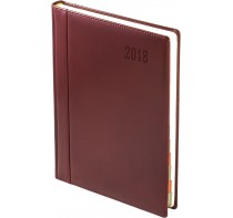 Kalendarz Książkowy A4 ze Skóry Naturalnej