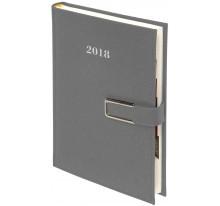 Kalendarz Książkowy A5 Cross na magnes z metalowym zapięciem