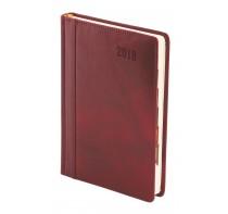 Kalendarz Książkowy A5 ze Skóry Naturalnej