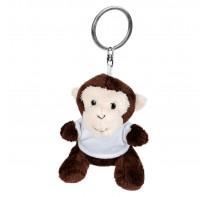 Karly, pluszowa małpa, brelok