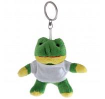 Laila, pluszowa żabka, brelok