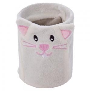 Milky, pluszowy kot, kubek / piórnik