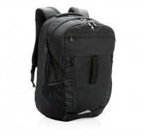 Plecak na laptopa Swiss Peak Outdoor, osłona przeciwdeszczowa