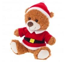 Santi, pluszowy miś świąteczny
