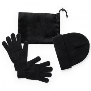 Zestaw zimowy, czapka i rękawiczki