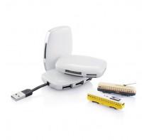 Hub USB i czytnik kart Station