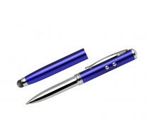 Długopis touch QUATRO z latarką i wskaźnikiem laserowym