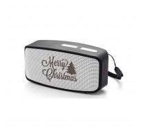 Głośnik Bluetooth MAX ze świątecznym wzorem