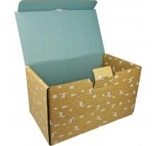 Pudełko uniwersalne z nadrukiem świątecznym duże.