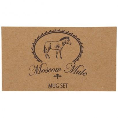 Zestaw upominkowy Moscow Mule
