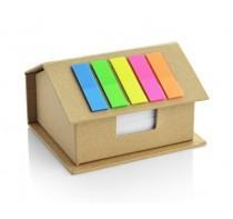 Domek - eko pojemnik na karteczki