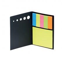 Karteczki samoprzylepne czarne