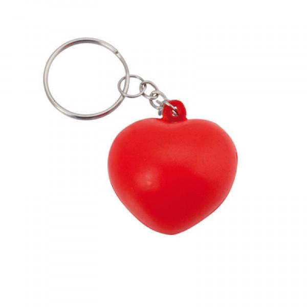 "Brelok do kluczy, zabawka antystresowa ""serce"""