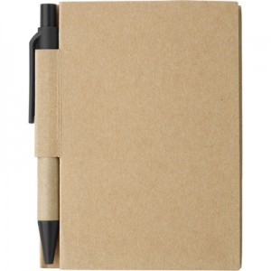 Notatnik (kartki w linie), długopis