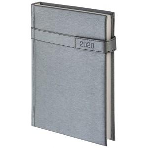 Kalendarz A4, Aluminium na magnes, tygodniowy, z registrami