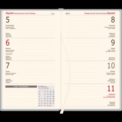 Kalendarz A4 tygodniowy DENIM 144 strony