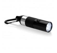 Aluminiowa latarka 6 LED