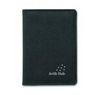 Portfel/etui na paszport z zabezpieczeniem RFID