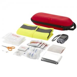 Zestaw pierwszej pomocy 46-elementowy z kamizelką odblaskową