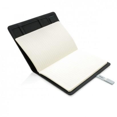 Notatnik A5 Kyoto, pamięć USB 16 GB