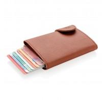 Etui na karty kredytowe i portfel z ochroną RFID C-Secure