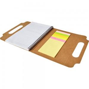 Zestaw do notatek, notatnik A5 (25 kartek w linie), karteczki samoprzylepne