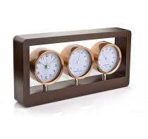 Stacja pogody - zegar, higrometr, termometr