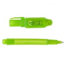 Długopis z niewidzialnym tuszem, lampka UV