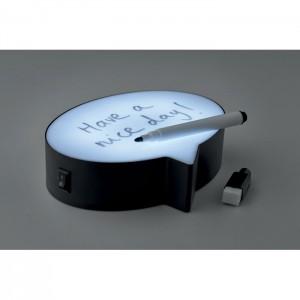 Lampka z możliwością pisania wiadomości
