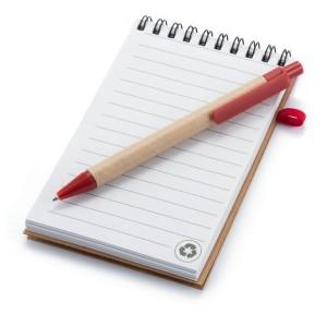 Notatnik (70 kartek) z długopisem