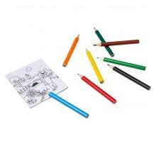 Zestaw do rysowania, kredki i kolorowanki