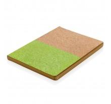 Ekologiczny notatnik korkowy