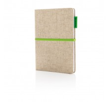 Ekologiczny notatnik A5 - okładka z juty
