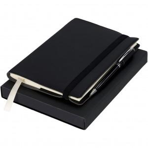 Zestaw upominkowy notatnik z piórem.